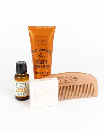 The Scottish Fine Soaps Company - Face & Beard Care Kit