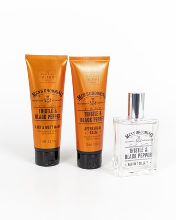 The Scottish Fine Soaps Company - Well Groomed Gift Set