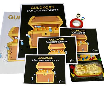 Guldkorn - Ett stort material för ökad fysisk aktivitet och motorisk träning
