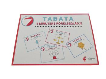 TABATA  Rörelsekort och filmade träningsprogram