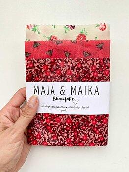 Sommarbin- bivaxfolie 3-pack