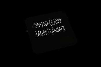Glasunderlägg 6st - #Mink(r)opp