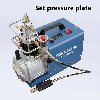 Kompressor till luftgevär PCP, 220V Vattenkyld