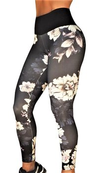 Bia Brazil   Flower Tights Dark