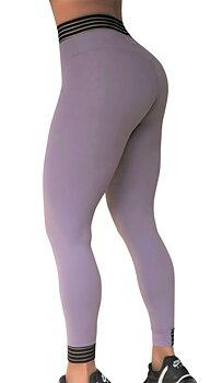 RAW By Adriana Kuhl  Urban Tights Grey Lavendel