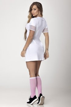 HIPKINI Long Shirt/ Dress Pocket White