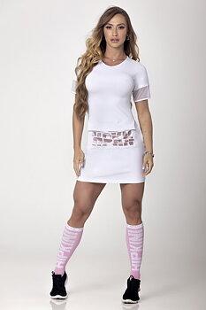 HIPKINI Long Shirt/ Dress Pocket White