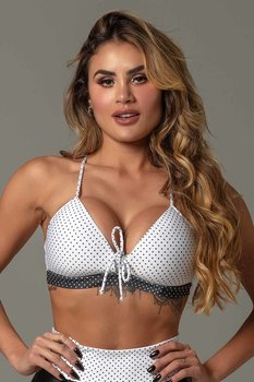 HIPKINI Downtown Push Up Bra White