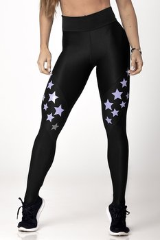 HIPKINI Stars Tights Black/Purple