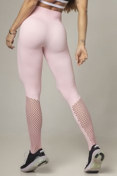 HIPKIN  Seamless Tights Slim Fit Soft Pink