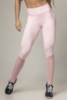 HIPKIN  Seamless Tights Slim Fit Soft Pink