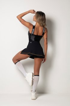 HIPKINI Sport Dress Black Gold