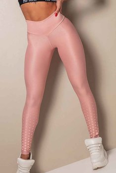 HIPKINI Spots Scrunch Tights  Diva Pink