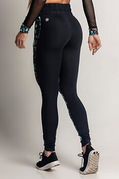 HIPKINI Chill Blue Print Tights