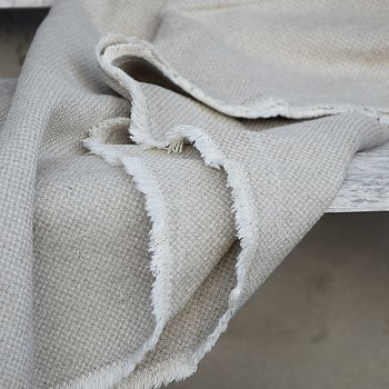 Sturdy linen blanket  - rice weaving