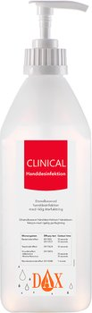 DAX Clinical Handdes. 600ml