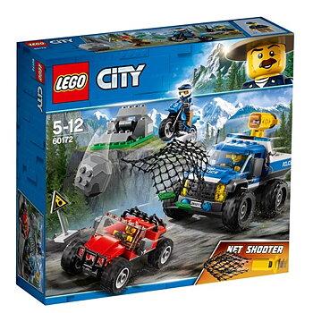 Lego City Polisjakt på berget 60172