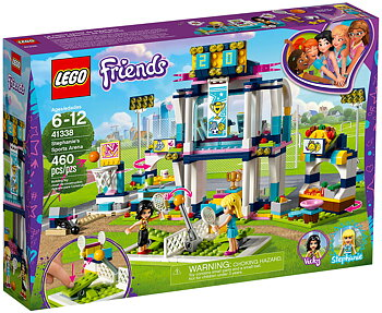 Lego Friends Stephanies Sportarena 41338