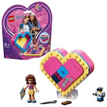 Lego Friends Olivias Hjärtask 41357