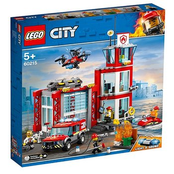 Lego City Brandstation 60215