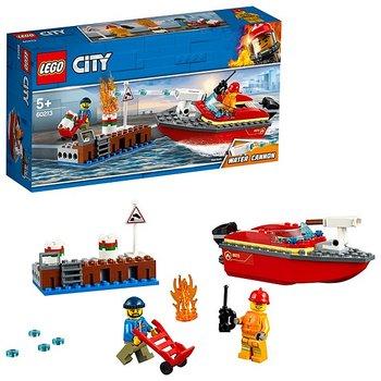 Lego City Eldsvåda i hamnen 60213