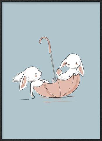 Harer på oppdagelse
