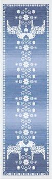 Bordslöpare - Dalarna Ljusblå 35x80 eller 35x120 cm