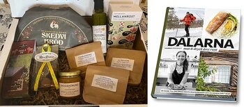 Taste of Dalarna - A box good from Dalarna and the restaurant guide / cookbook