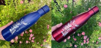 Flaska - Vakuumisolerad för varm och kall dryck med personlig gravyr