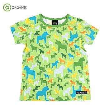 T-Shirt Dalarna grün von Villervalla