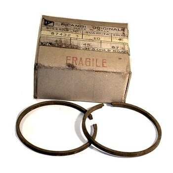 087433 Piston ring 2nd (2M) oversize / Kolvring 2:a ÖD