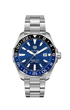 Tag Heuer Aquaracer GMT 43mm Blå