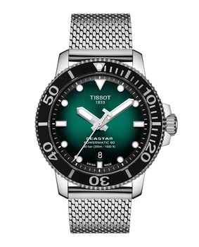 Tissot Seastar 1000 Powermatic 80 43mm Grön