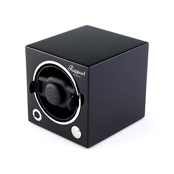 Rapport London Evo Cube Watch Winder Black