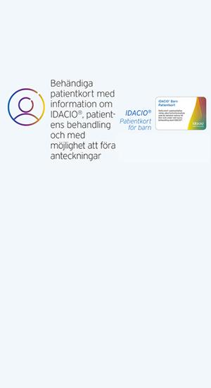 Patientkort barn IDACIO®