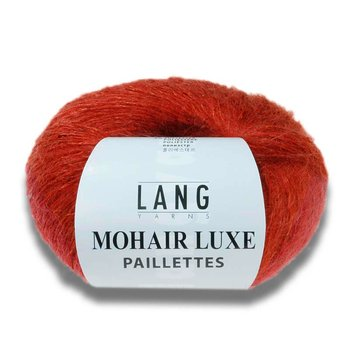 MOHAIR LUXE PAILLETTES - Mohair med paljetter
