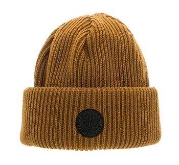 Mustard Tyson Sr. Rib knit beanie CTH