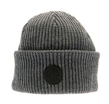 Grå Tyson Sr. Rib knit beanie CTH