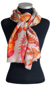 Vacker sjal från LindaLykke, stort paisleymönster
