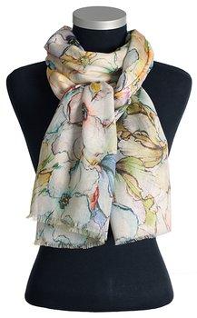 Vacker sjal från LindaLykke, stort blommönster