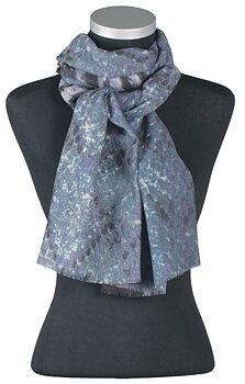 Nanna, vacker, mönstrad sjal från LindaLykke