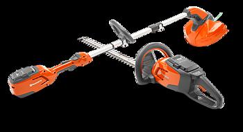 Husqvarna batterikit: Trimmer 115iL och Häcksax 115iHD45 med batteri och laddare