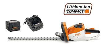 STIHL HSA 56 batteridriven häcksax med batteri och laddare