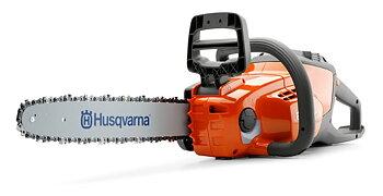 """Husqvarna 120i batteridriven motorsåg 12"""" med batteri och laddare"""
