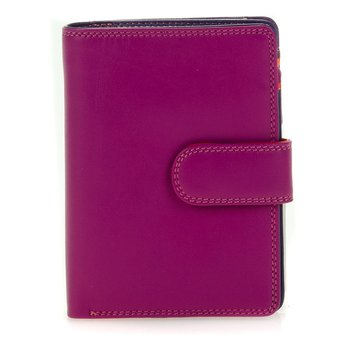 Snap Wallet Medium från Mywalit 9x13 cm,  Sangria Multi