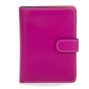 Snap Wallet Large från Mywalit 11x14 x 21 cm,  Sangria Multi