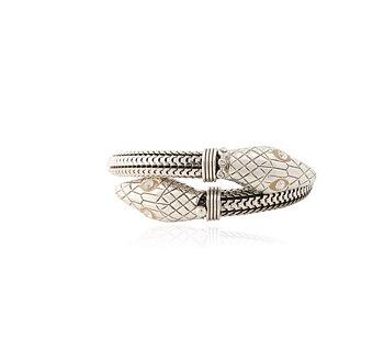 Cobra bracelet silver