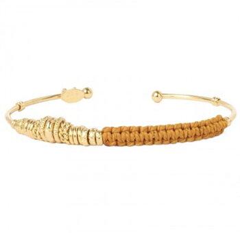 zizanie bracelet yellow