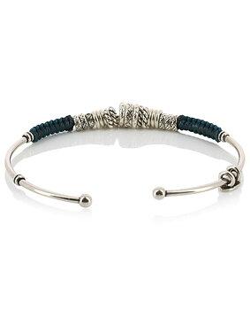 zizanie bracelet silver plated