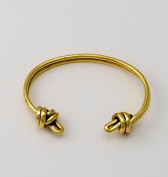 2 knots bracelet gold
